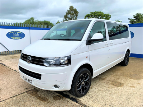 Volkswagen Caravelle 2014 SE TDI BLUEMOTION TECHNOLOGY wheelchair & scooter accessible vehicle 4