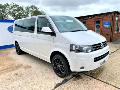 Volkswagen Caravelle 2014 SE TDI BLUEMOTION TECHNOLOGY wheelchair & scooter accessible vehicle 2