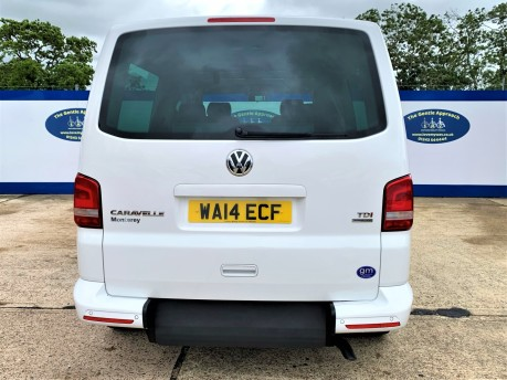 Volkswagen Caravelle 2014 SE TDI BLUEMOTION TECHNOLOGY wheelchair & scooter accessible vehicle 5