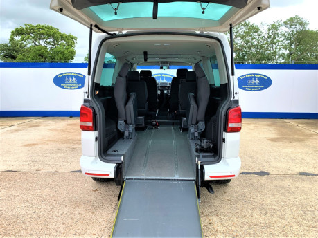 Volkswagen Caravelle 2014 SE TDI BLUEMOTION TECHNOLOGY wheelchair & scooter accessible vehicle 7