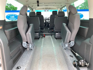 Volkswagen Caravelle 2014 SE TDI BLUEMOTION TECHNOLOGY wheelchair & scooter accessible vehicle 8