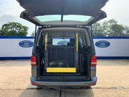 Volkswagen Caravelle 2013 SE TDI wheelchair & scooter accessible vehicle WAV 6