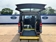 Volkswagen Caravelle 2013 SE TDI wheelchair & scooter accessible vehicle WAV 9