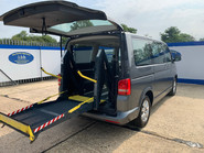 Volkswagen Caravelle 2013 SE TDI wheelchair & scooter accessible vehicle WAV 10