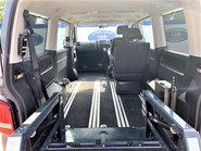 Volkswagen Caravelle 2013 SE TDI wheelchair & scooter accessible vehicle WAV 12