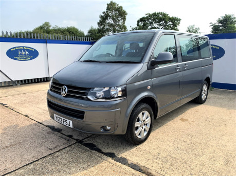 Volkswagen Caravelle 2013 SE TDI wheelchair & scooter accessible vehicle WAV 4
