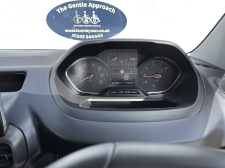 Peugeot Rifter 2019 HORIZON RE wheelchair & scooter accessible vehicle WAV 18