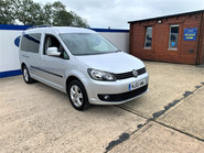 Volkswagen Caddy Maxi 2013 C20 LIFE TDI Wheelchair & scooter accessible vehicle WAV 2
