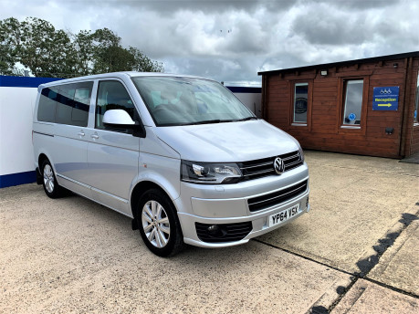 Volkswagen Caravelle 2014 EXEC TDI BLUEMOTION TECH Wheelchair & scooter accessible vehicle WAV 2