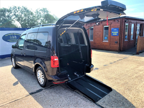 Volkswagen Caddy Life 2017 C20 LIFE TDI driver transfer wheelchair & scooter accessible vehicle 1