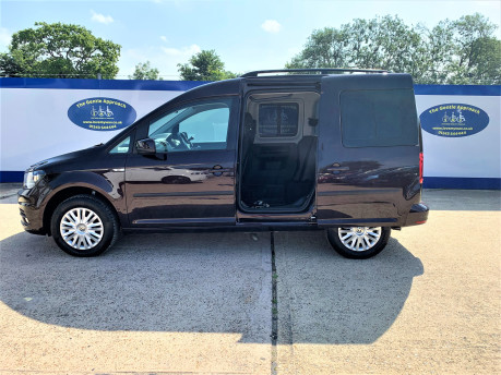 Volkswagen Caddy Life 2017 C20 LIFE TDI driver transfer wheelchair & scooter accessible vehicle 18