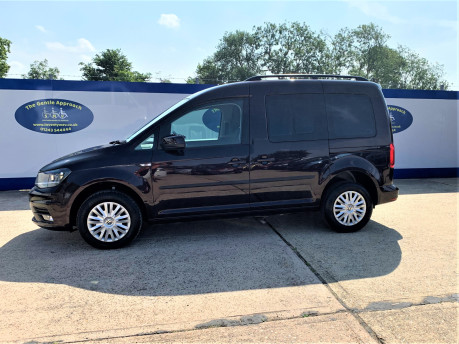 Volkswagen Caddy Life 2017 C20 LIFE TDI driver transfer wheelchair & scooter accessible vehicle 19