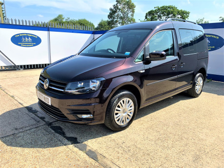 Volkswagen Caddy Life 2017 C20 LIFE TDI driver transfer wheelchair & scooter accessible vehicle 4