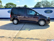 Volkswagen Caddy Life 2017 C20 LIFE TDI driver transfer wheelchair & scooter accessible vehicle 16