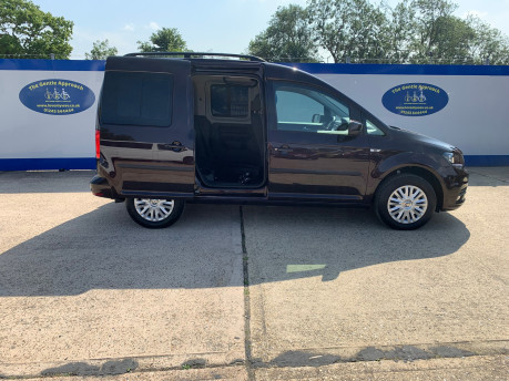 Volkswagen Caddy Life 2017 C20 LIFE TDI driver transfer wheelchair & scooter accessible vehicle 17