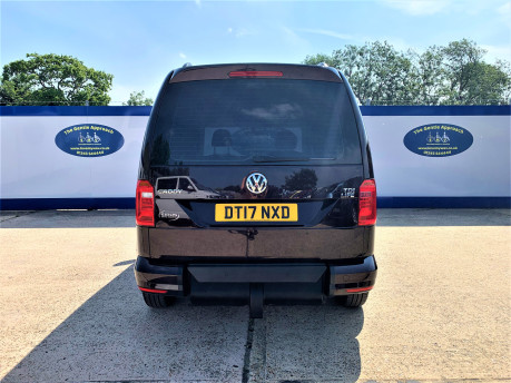 Volkswagen Caddy Life 2017 C20 LIFE TDI driver transfer wheelchair & scooter accessible vehicle 5