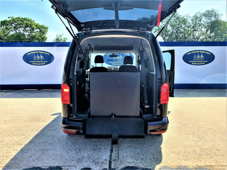 Volkswagen Caddy Life 2017 C20 LIFE TDI driver transfer wheelchair & scooter accessible vehicle 6