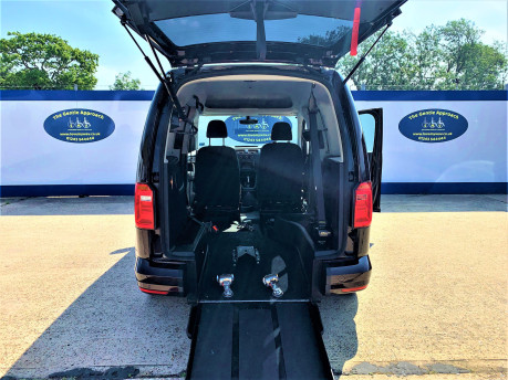 Volkswagen Caddy Life 2017 C20 LIFE TDI driver transfer wheelchair & scooter accessible vehicle 7