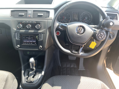 Volkswagen Caddy Life 2017 C20 LIFE TDI driver transfer wheelchair & scooter accessible vehicle 8