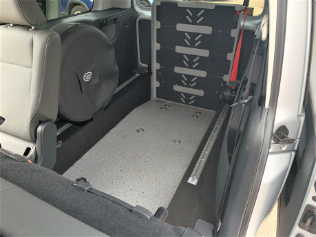 Volkswagen Caddy Maxi 2016 C20 LIFE TDI wheelchair & scooter accessible vehicle WAV 28