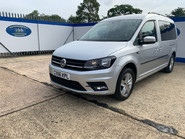 Volkswagen Caddy Maxi 2016 C20 LIFE TDI wheelchair & scooter accessible vehicle WAV 4