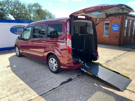 Ford Grand Tourneo Connect 2020 TITANIUM TDCI wheelchair & scooter accessible vehicle WAV 1