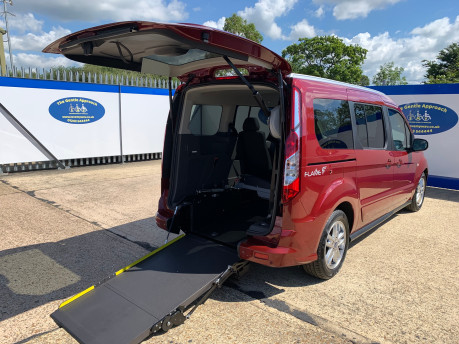 Ford Grand Tourneo Connect 2020 TITANIUM TDCI wheelchair & scooter accessible vehicle WAV 31