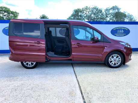 Ford Grand Tourneo Connect 2020 TITANIUM TDCI wheelchair & scooter accessible vehicle WAV 27