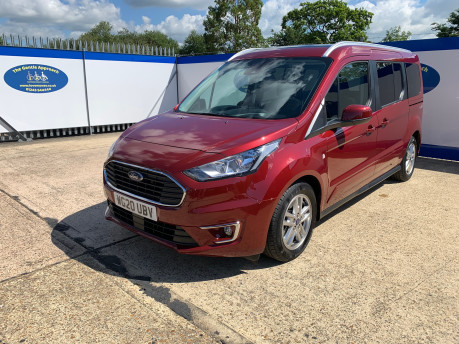 Ford Grand Tourneo Connect 2020 TITANIUM TDCI wheelchair & scooter accessible vehicle WAV 4