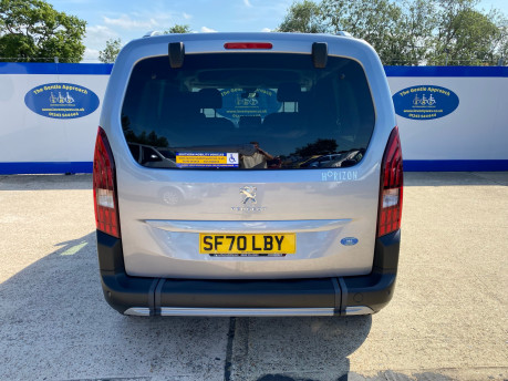 Peugeot Rifter BLUEHDI S/S ALLURE wheelchair & scooter accessible vehicle WAV 5