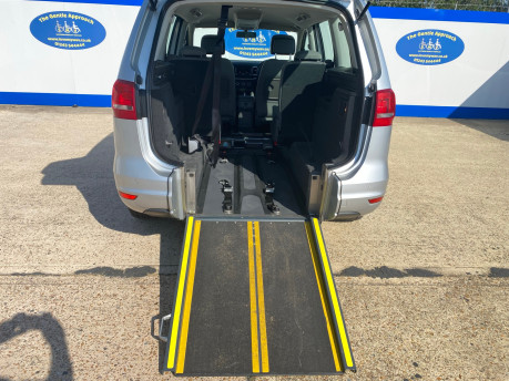 Volkswagen Sharan SE TDI DSG wheelchair & scooter accessible vehicle WAV 6