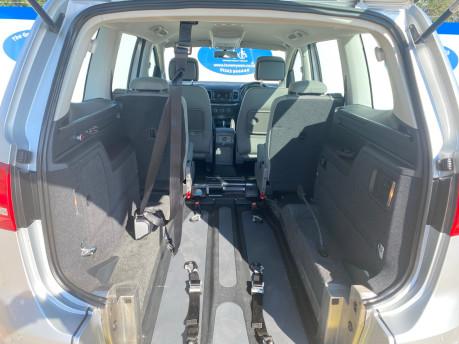 Volkswagen Sharan SE TDI DSG wheelchair & scooter accessible vehicle WAV 7