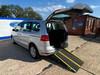 Volkswagen Sharan SE TDI DSG wheelchair & scooter accessible vehicle WAV