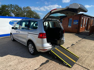 Volkswagen Sharan SE TDI DSG wheelchair & scooter accessible vehicle WAV 1