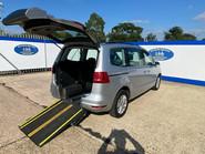 Volkswagen Sharan SE TDI DSG wheelchair & scooter accessible vehicle WAV 33