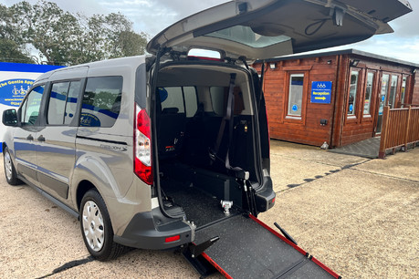 Ford Grand Tourneo Connect ZETEC TDCI wheelchair & scooter accessible vehicle WAV