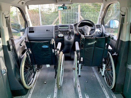 Volkswagen Caravelle EXECUTIVE TDI Wheelchair Accessible Vehicle 8