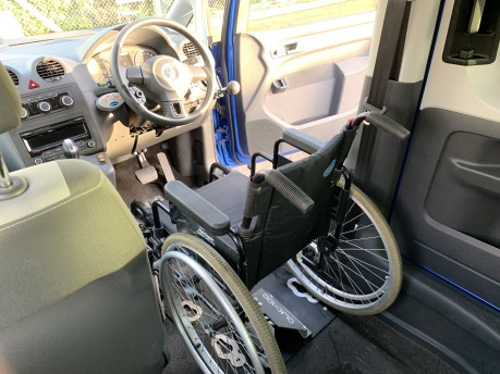 Volkswagen Caddy C20 LIFE TDI Wheelchair Accessible Vehicle 9