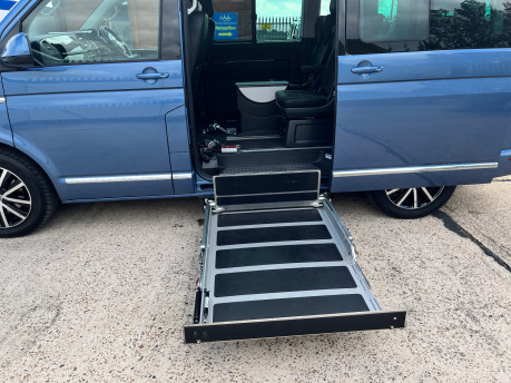 Volkswagen Caravelle EXECUTIVE TDI BMT wheelchair & scooter accessible vehicle WAV 11