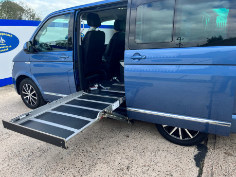 Volkswagen Caravelle EXECUTIVE TDI BMT wheelchair & scooter accessible vehicle WAV 10