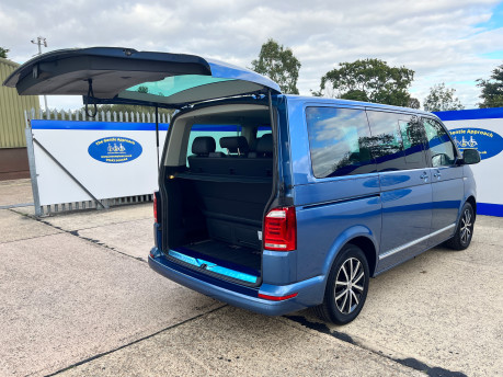 Volkswagen Caravelle EXECUTIVE TDI BMT wheelchair & scooter accessible vehicle WAV 30
