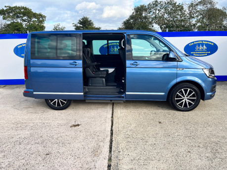 Volkswagen Caravelle EXECUTIVE TDI BMT wheelchair & scooter accessible vehicle WAV 27