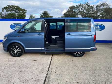 Volkswagen Caravelle EXECUTIVE TDI BMT wheelchair & scooter accessible vehicle WAV 29