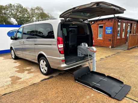 Mercedes-Benz Viano AMBIENTE CDI BLUEEFFICENCY wheelchair & scooter accessible vehicle WAV 1