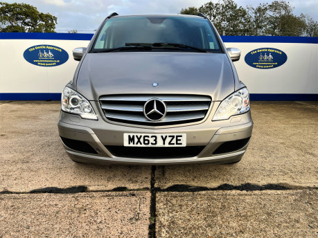 Mercedes-Benz Viano AMBIENTE CDI BLUEEFFICENCY wheelchair & scooter accessible vehicle WAV 3