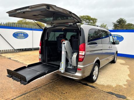 Mercedes-Benz Viano AMBIENTE CDI BLUEEFFICENCY wheelchair & scooter accessible vehicle WAV 7