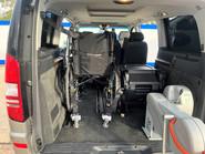 Mercedes-Benz Viano AMBIENTE CDI BLUEEFFICENCY wheelchair & scooter accessible vehicle WAV 8