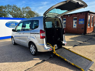 Ford Tourneo Courier ZETEC TDCI wheelchair & scooter accessible vehicle WAV 1
