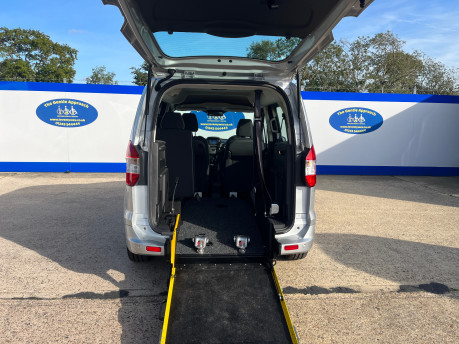 Ford Tourneo Courier ZETEC TDCI wheelchair & scooter accessible vehicle WAV 7