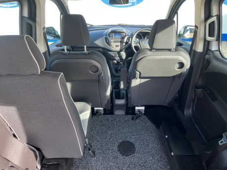 Ford Tourneo Courier ZETEC TDCI wheelchair & scooter accessible vehicle WAV 8